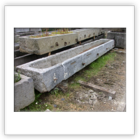 vieux bacs en pierre - Pougin antiquités