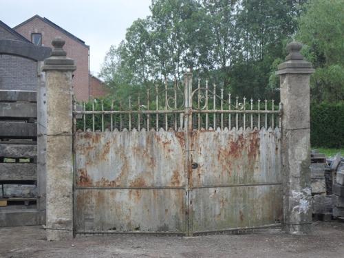Pougin fer forg pougin vente et achat de mat riaux anciens et antiquit s - Pilier de portail en pierre ancien ...